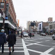 125th Stのみお散歩。至って普通