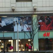 松坂屋さんにあるH&M!!