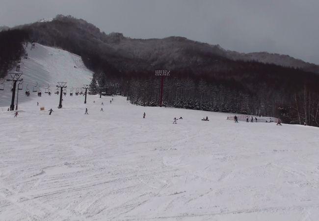 なかなかいいスキー場