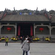 中国らしさを感じる建物