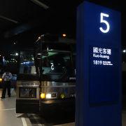 台北まで一時間です。