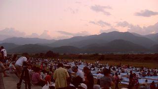 市川三郷町ふるさと夏まつり 神明の花火大会