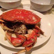 絶品のイチョウ蟹