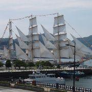 一年に一回の帆船集合