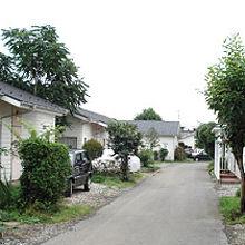 米軍ハウスと平成ハウスのタウン