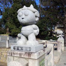茨木童子像 (高橋の欄干)