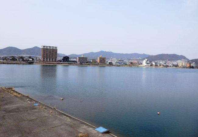 愛知県犬山市の木曽川うかい(きそがわうかい)