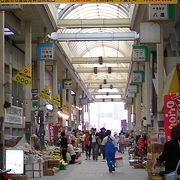 日本最南端のアーケード商店街