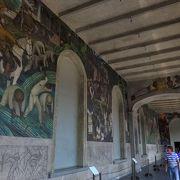 ディエゴ・リベラの壁画が見れる博物館