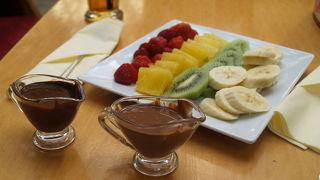 チョコレートがおいしいおしゃれカフェ