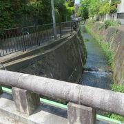 西行が歌を読んだと伝えられる橋。
