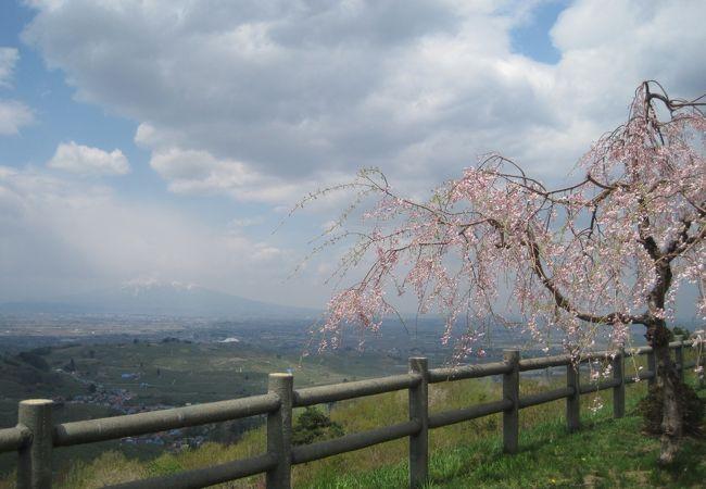 岩木山が見渡せる絶景ポイント