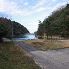 沖泊は今でも港として使われています。