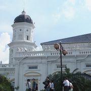 ジョホールバルの美しいモスク