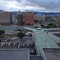 眺めは最高にいいです!山形駅前が見渡せます。