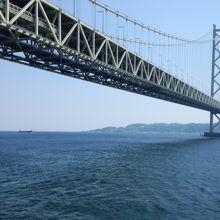 明石海峡大橋 (本州 舞子浜側)
