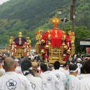 芭蕉も見学したという伝統の嵯峨祭。