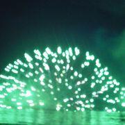 水中花火は最高です。