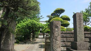 中原街道沿いの日蓮宗のお寺