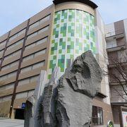 弘前駅に近い、総合モール