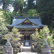 清々しい神社