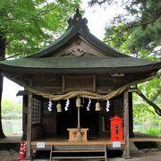 素朴な社殿