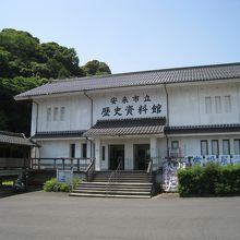 歴史資料館の全景