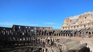 ローマの絶景はコロッセオ