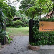 北タイ様式の建物を移築した博物館