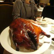 香港最後の日のディナーに