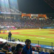 台中最大の野球場 (台中州際棒球場)