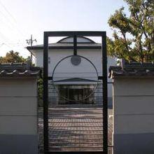 蕨宿の近くにある寺院