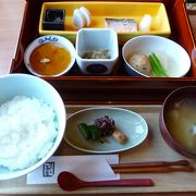 朝は和朝食で!