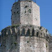 アッシジのてっぺんに位置する大城塞からの眺めは最高!