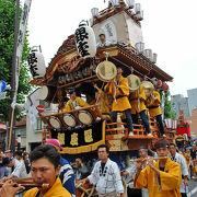 熊谷の伝統的なお祭