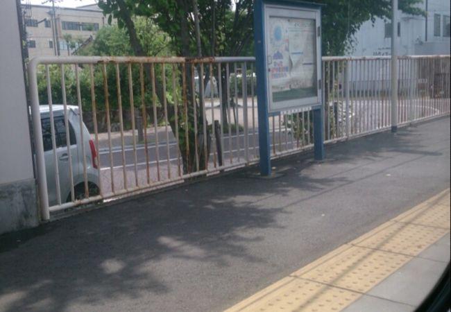 各務原市役所前駅