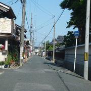 9つのお寺が並ぶ通りです。