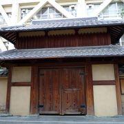 茨木城の本丸があった場所