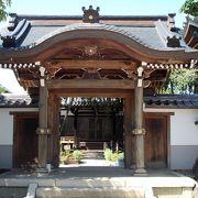 犬山城下町の枝垂桜で有名なお寺