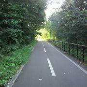 北広島側のエルフィンロードは走りやすくて気持ち良い