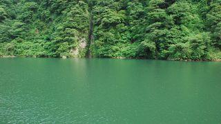 庄川の秘境を船で満喫