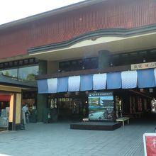 嵐山駅のエキナカ施設