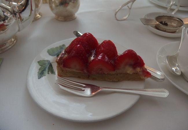 最高に美味しかったイチゴのタルト!