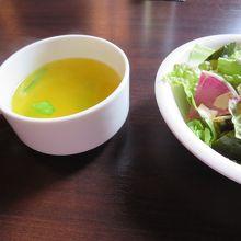 新ショウガのサフラン風味スープ
