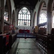 イギリス最古の時計がある教会