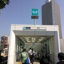 豊洲駅入り口