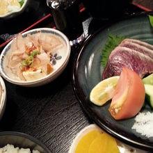塩タタキ定食1500円