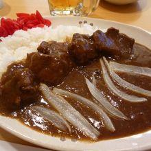 「あしきた牛カレー」(980円+大盛り150円)