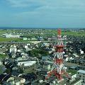 写真:鈴鹿市役所15階展望ロビー