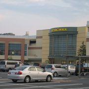 前橋駅に近いショッピングモール